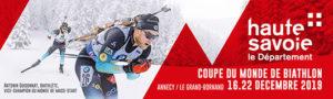 Coupe du Monde de Biathlon Annecy Grand Bornand 2019