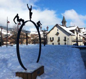 Exposition temporaire Megève station Haute Savoie