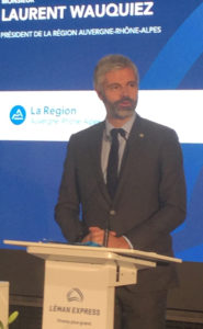 inauguration officielle Léman Express Genève Eaux-Vives 2019
