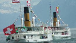 Parade Navale: bateaux Simplon et Suisse