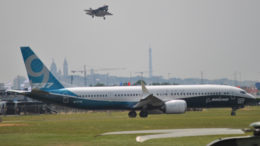Les vedettes du SaloParis Le Bourget le Boeing 737 et Lockheed Martin F-35