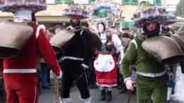 Coutume Suisse orientale St Sylvestre Urnäsch