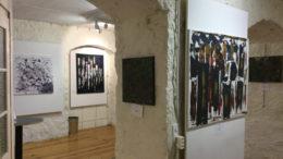 exposition temporaire Genève librarie Olivier peinture Mohand Mohammed Kenzi