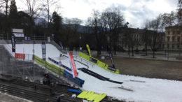 ski et snowboard Freestyle Genève Parc des Bastions 2019