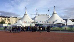 Totem spectacle du cirque du Soleil à Genève chapiteau